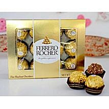 Delectable Rochers: Anniversary Chocolates to USA