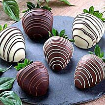 Dipped Chocolate Strawberries: Anniversary Chocolates to USA
