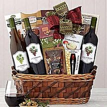 Edenbrook Vineyards Trio Gift Basket: Christmas Gift Baskets USA