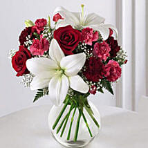 Enduring Romance Bouquet: Send Flowers to USA