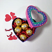 Ferrero Rocher In Heart Box: Valentine's Day Gifts for Him to USA