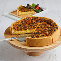 Florentine Quiche: Cakes to Raleigh