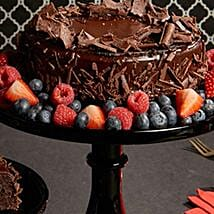 Flourless Chocolate Cake:
