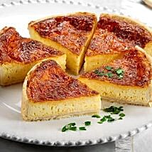 Four Cheese Quiche: Send Cakes to California