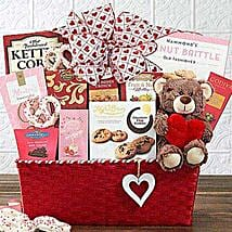 From the Heart Gift Basket: Valentine's Day Gifts to San Francisco