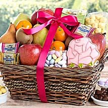 Fruit and Sweets Assortment: Christmas Gift Baskets USA