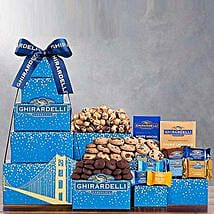 Ghirardelli Tower: Anniversary Chocolates to USA