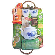 Green Tea Basket: Chinese New Year Gifts to USA