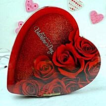 Heart Shaped Chocolate Box: Valentine's Day Gift Delivery in Madison