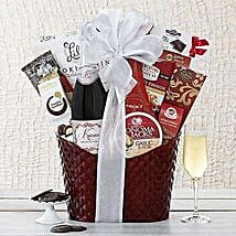 Kiarna California Champagne Basket: Christmas Gift Hampers to USA