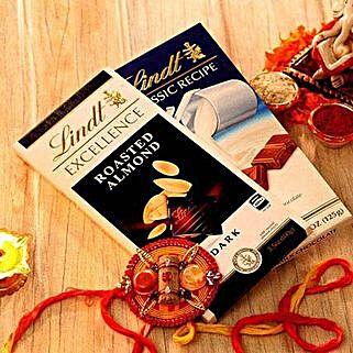 Lindt Bhai Dooj Special Hamper: Bhai Dooj Gift Delivery in USA
