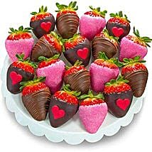 Love Dipped Strawberries: Valentine Gifts to Jersey City