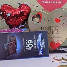 Love Pillow N Chocolates: Valentine's Day Gift Delivery in Madison