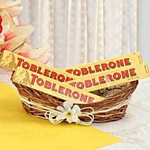Munch With Toblerone: Bhai Dooj Gift Delivery in USA