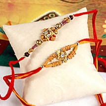 Radiant Rakhi Set: Send Rakhi to Madison