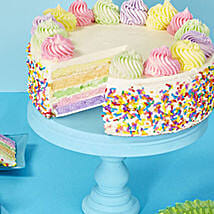 Rainbow Cake: Send Mother's Day Cakes to USA