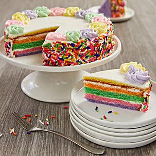 Rainbow Cake: Send Cakes to Chicago