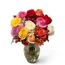Roses And Alstros Bouquet: Roses