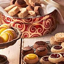 Sable French Cookie Tin: Christmas Gift Delivery in USA