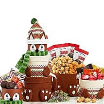 Santa Claus Gift Tower: Send Corporate Gifts to USA