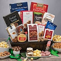 Sweet and Salty Snack Gift Basket: Gifts for Anniversary in USA