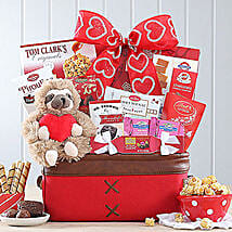 Sweet Selections Basket: Valentine's Day Gift Delivery in Madison