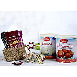 Tasty N Healthy Bhai Dooj Collection: Send Bhai Dooj Gifts to USA