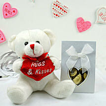 Teddy Bear N Assorted Chocolates: Send Valentine Gifts to Madison