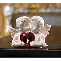 Two In Love Cherub Figurine: Valentine Gifts to San Diego
