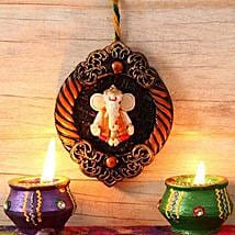 Unique Ganesha Wall Hanging: Diwali Gift Delivery in USA