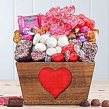 Valentine Sweets and Godiva Truffle Assortment: Valentine's Day Gift Delivery in USA