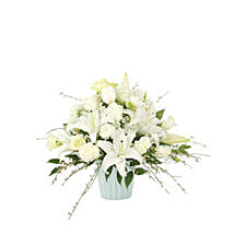 White Fancy USA: Sympathy & Funeral Flowers to USA