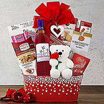 Windwhistle Valentine Red Moscato: Valentine's Day Gift Delivery in Madison