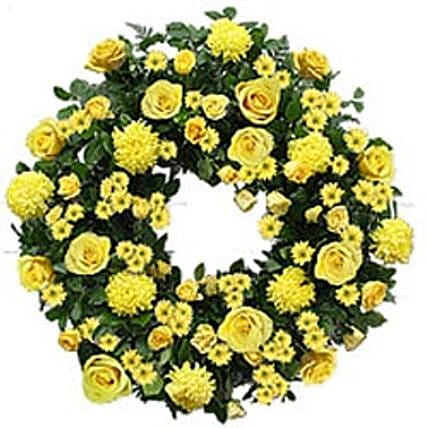 Contemporary Wreath yug