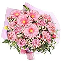 In the pink bouquet yug: Send Gifts to Yugoslavia
