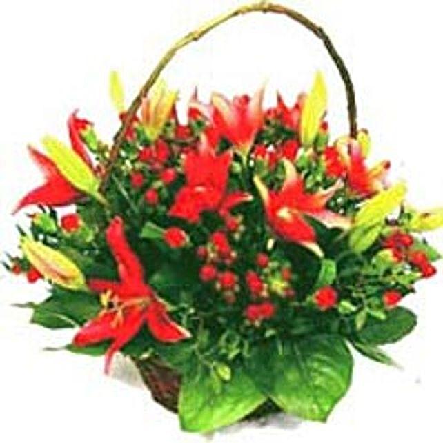 Traditional Basket Full of Love zim